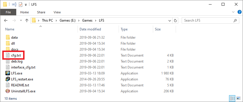 Supported Games — SIMRIG Control Center documentation